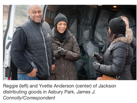 Asbury Park Press Through hardships, Jackson couple finds service mission