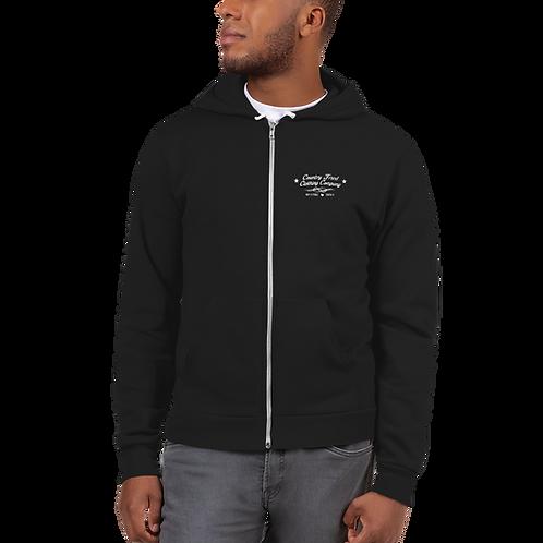SHITKICKER - Zip Front Hoodie Sweater