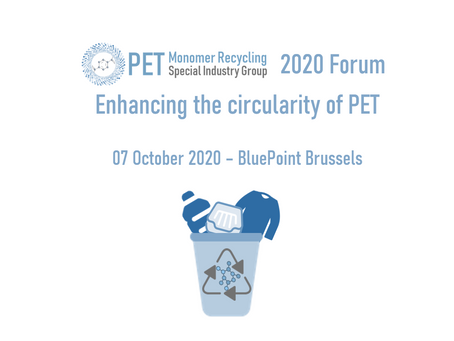 2020 PET Monomer Recycling Forum - event to be held online