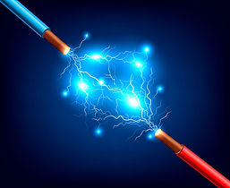 electric-cables-lightning-realistic-comp
