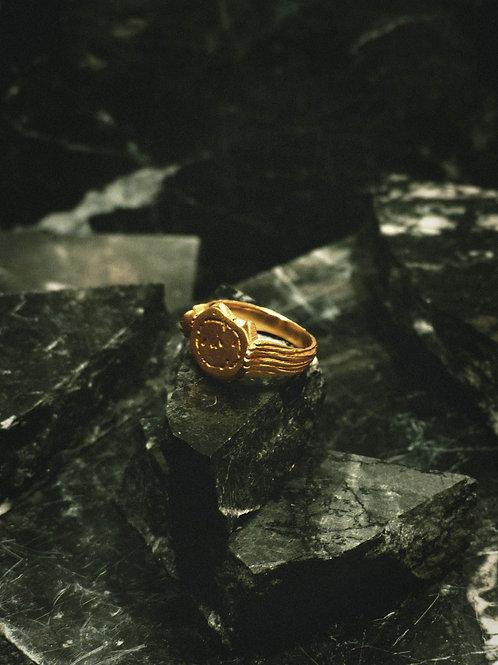 BAGVE II - fins signet ring
