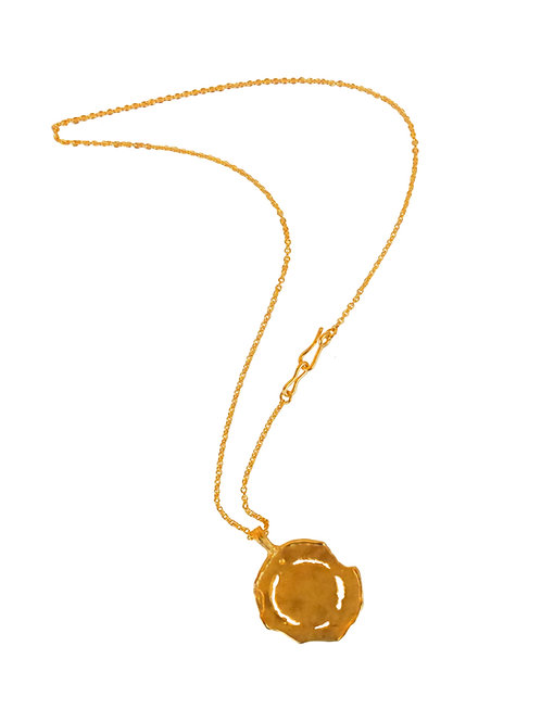 MEDAILLE I - large see-through medal