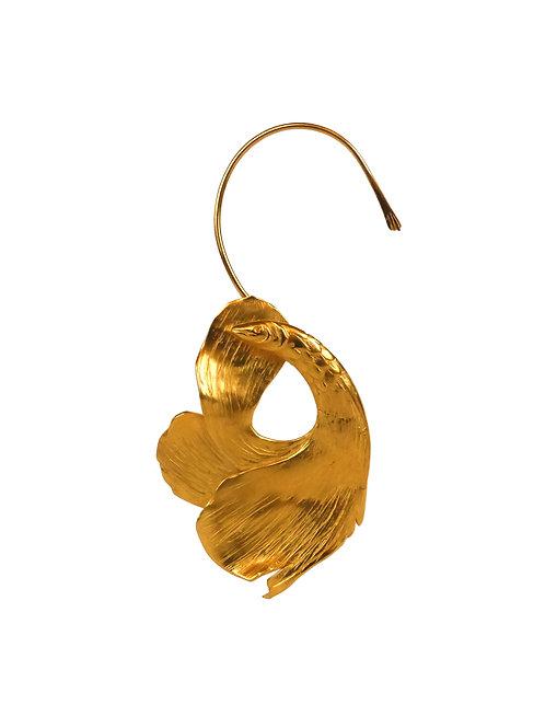 BOVCLE D'OREILLE - fish earcuff earring