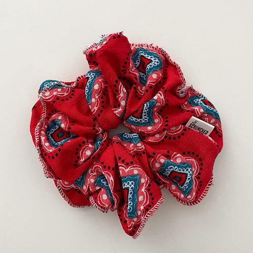 Americana Oversized Scrunchie