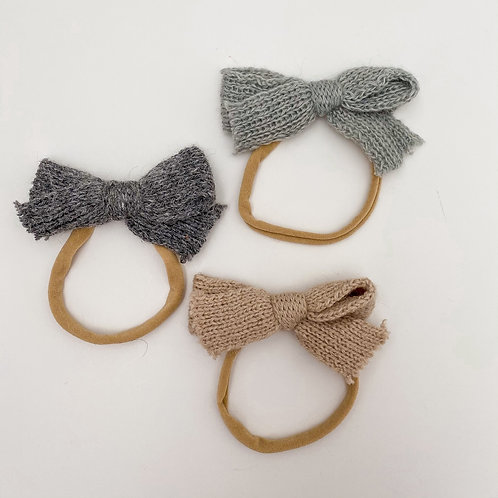Cozy Sweaters Baby Headbands