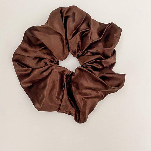 Hot Chocolate Oversized Scrunchie