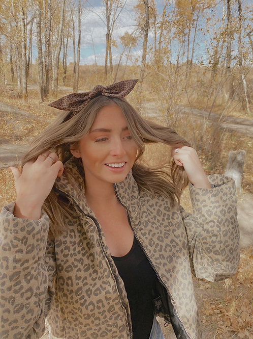 Cheetahlicious Hair Scarf