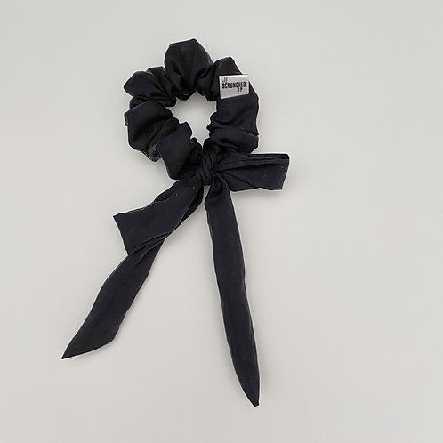 I Am Unique Bow Scrunchie