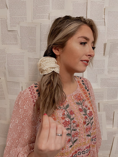 Ever After Oversized Scrunchie