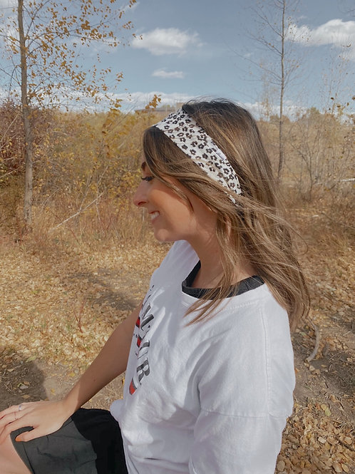 Cheetah Sisters Hairwrap