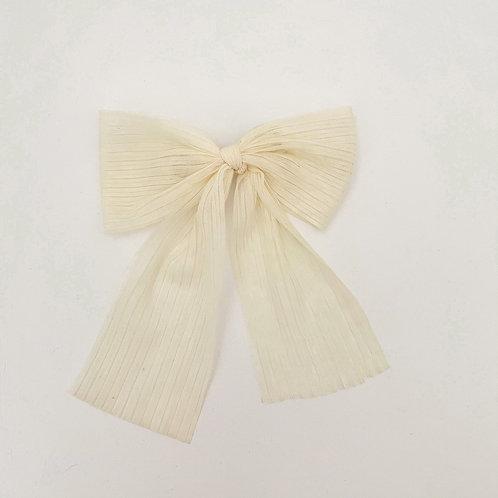 White Christmas Bow