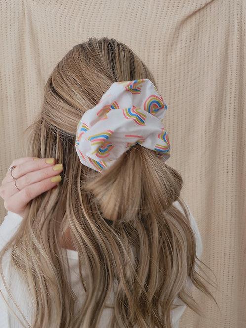 Pop of Color Oversized Scrunchie