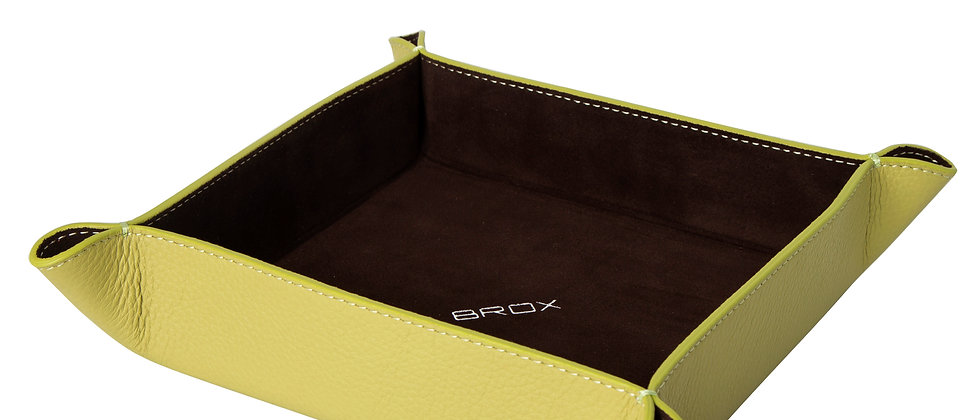 Key Tray | Lime Green - Brown