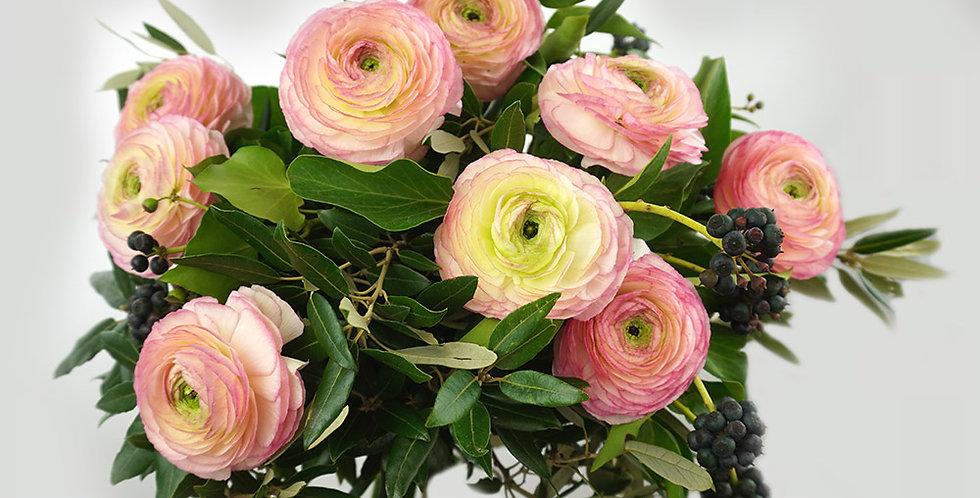 Ranunculus hand bouquet