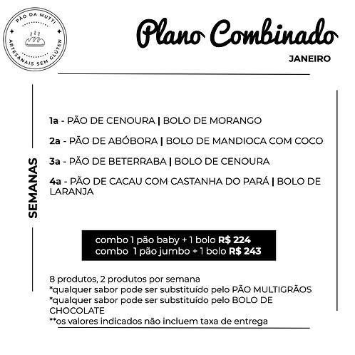 PLANO COMBINADO - 8 produtos |  350g e  550g