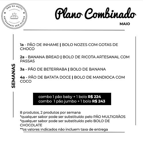PLANO COMBINADO - 8 produtos    350g e  550g