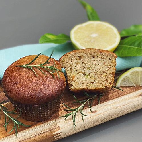 MUFFIN DE LIMÃO SICILIANO LOW CARB| 4un