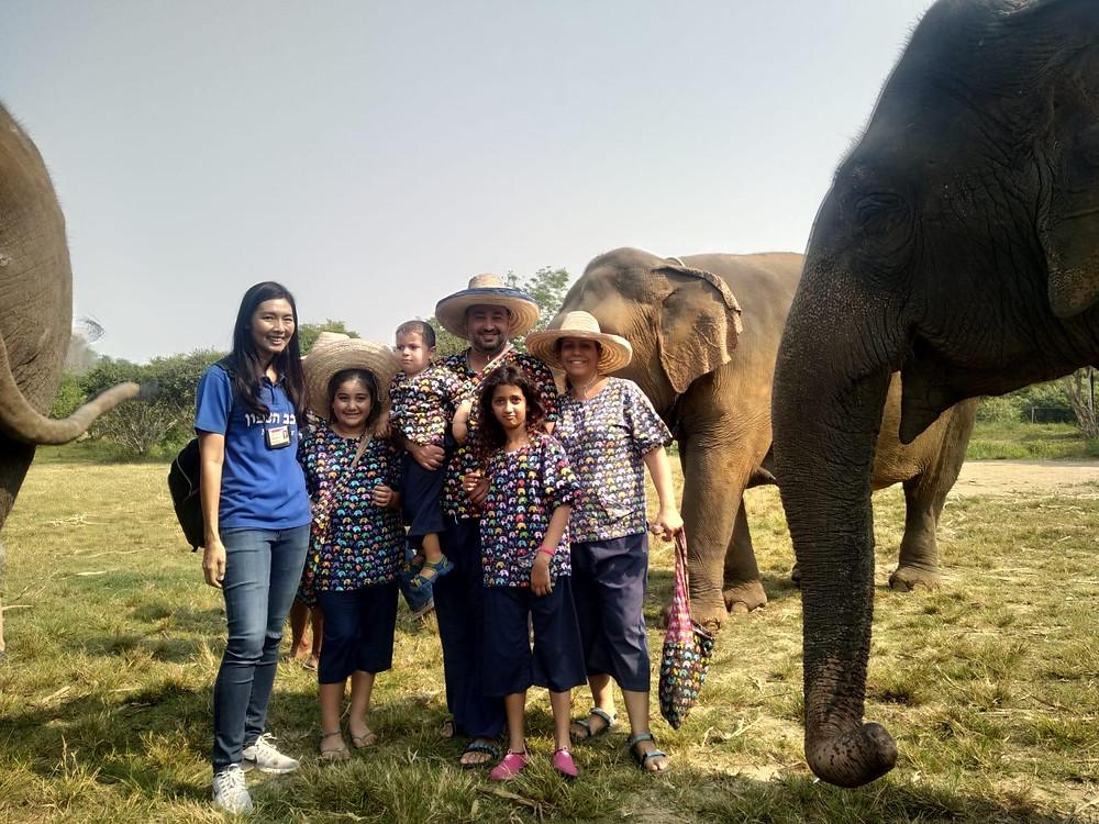 משפחת יעקב בטיול לתאילנד