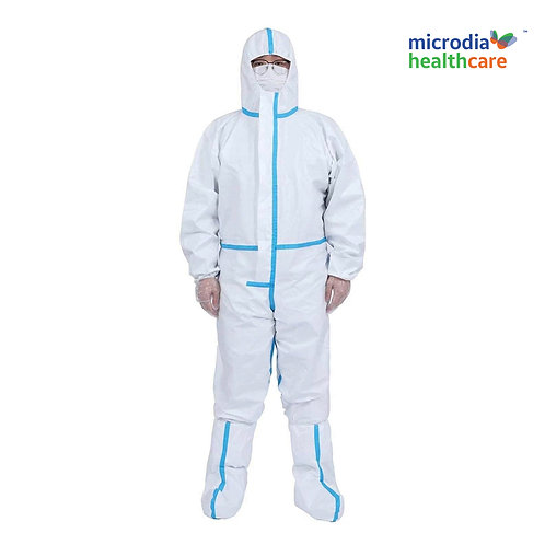 High Protective Clothing with shoe cover
