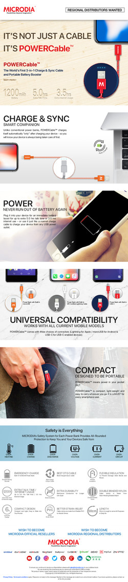 World's First 3 in 1 POWERCable