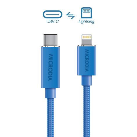 USB-C_to_Lightning - Blue