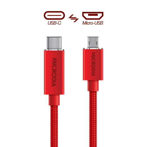 USB-C_to_MicroUSB - Product Red