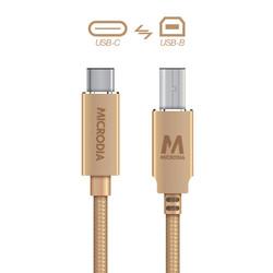 USB-C_to_USB-B - Gold