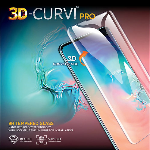3D-CURVI Pro Screen Protector - 9H Tempered Glass for SAMSUNG