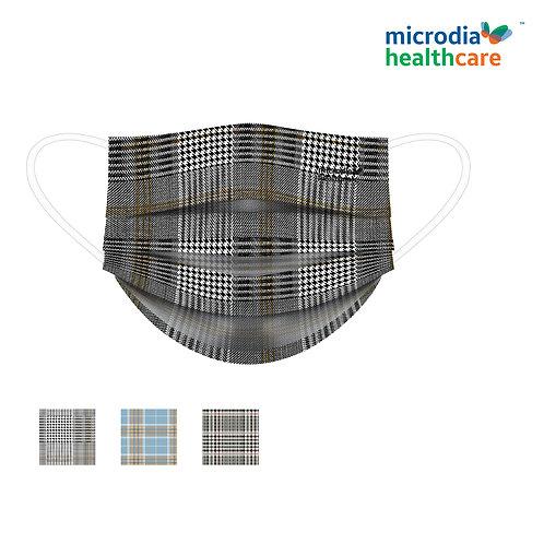 3-Ply Printed Masks OXFORD (30pcs/box)