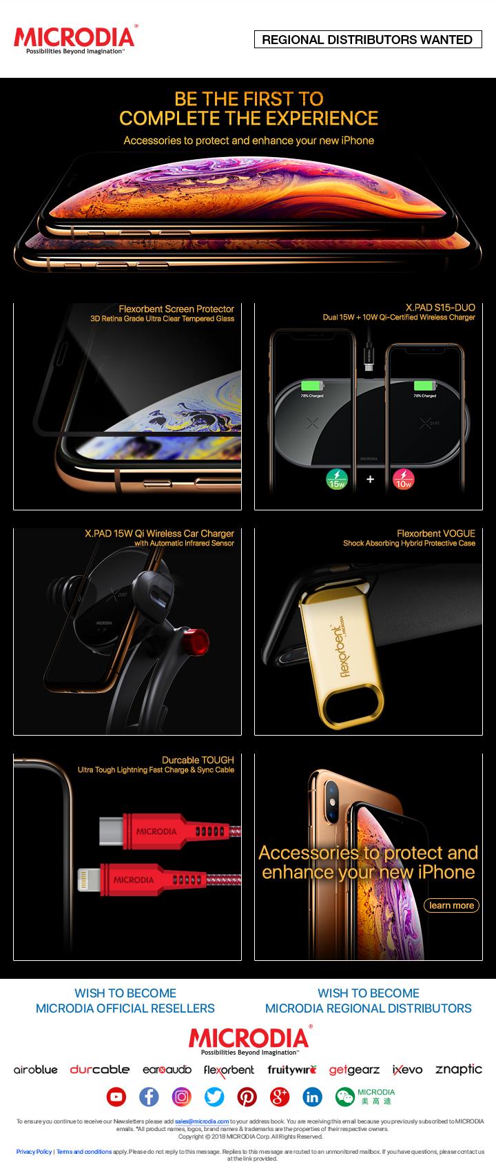 Comprehensive Range of Accessories