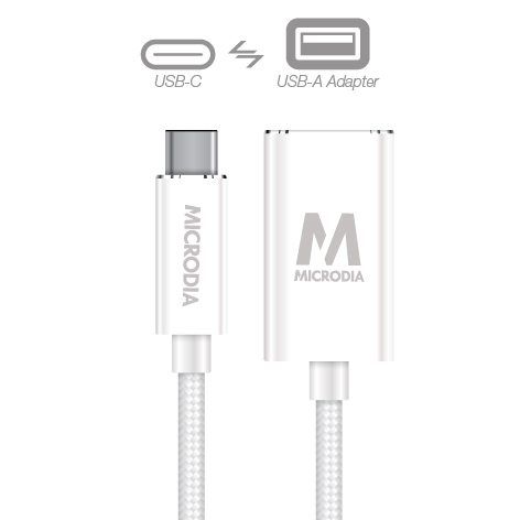 USB-C_to_USB-A Adapter - White