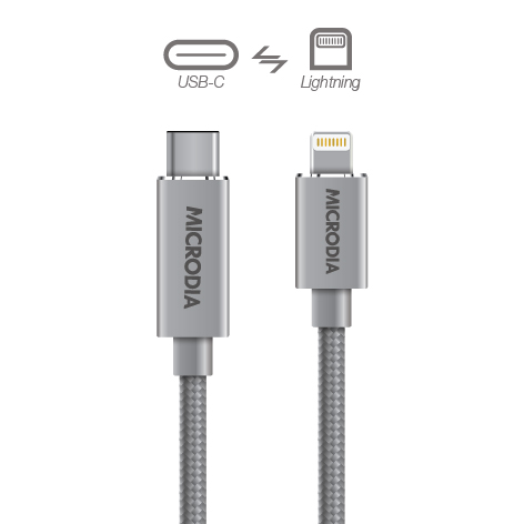 USB-C_to_Lightning - Space Grey