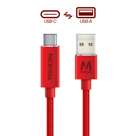 USB-C_to_USB-A - Product Red