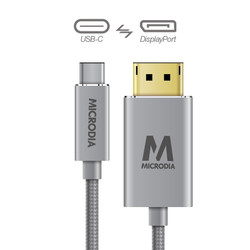 USB-C_to_Displayport - Space Grey