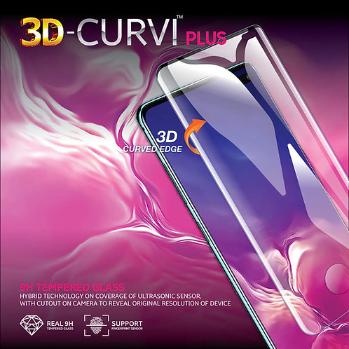 3D-CURVI Plus Screen Protector - 9H Tempered Glass for SAMSUNG
