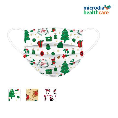 3-Ply Seasonal Edition Masks MERRY MERRY CHRISTMAS  (30pcs/box)