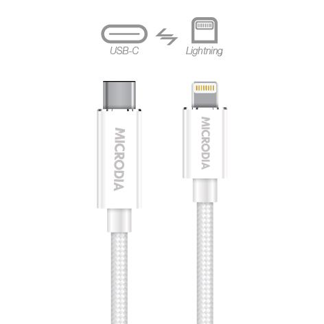 USB-C_to_Lightning - White