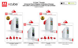 19. X.Cube Travel Adapter