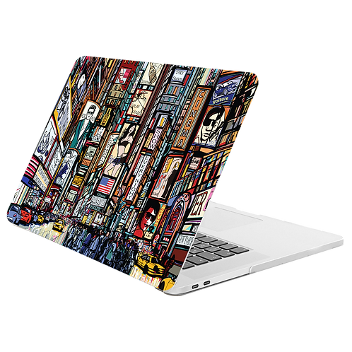 NEW YORK Hard-shell Printing Case for MacBook- Big Apple