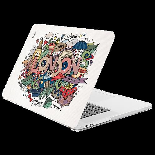 LONDON Hard-shell Printing Case for MacBook -Graffiti