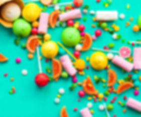 Fruitywire Candy Background