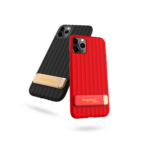 ROYALE - Ultra-Slim, Soft Drop-Protective Case with Zinc Alloy Kickstand