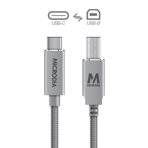 USB-C_to_USB-B - Space Grey