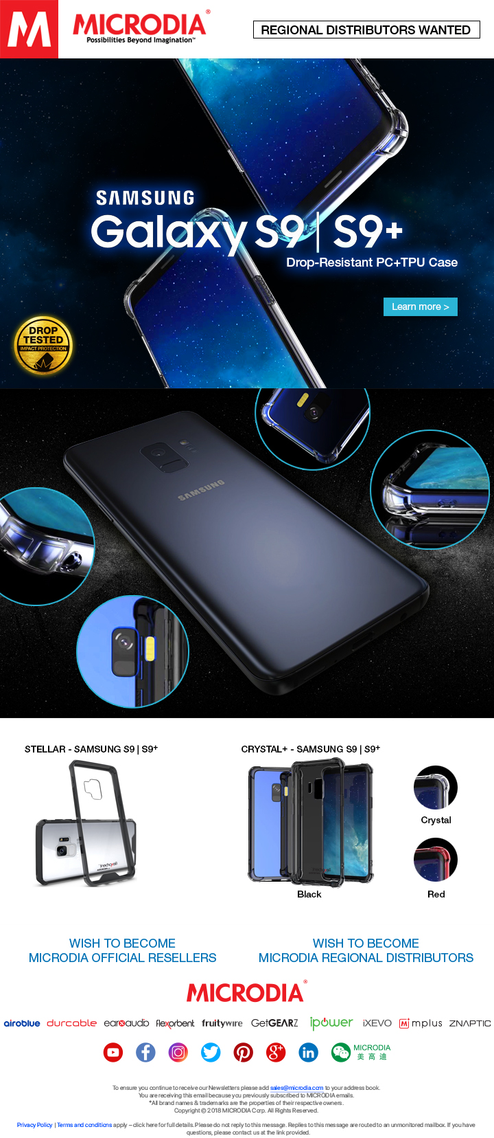Premium Protective Case for Samsung