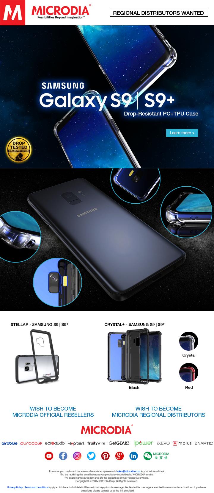 Premium Protective Case for Samsung