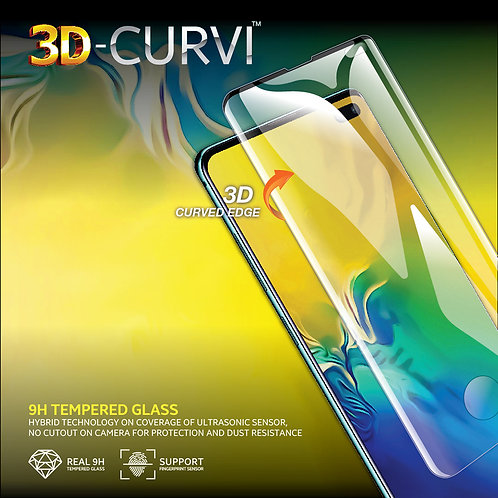 3D-CURVI Screen Protector - 9H Tempered Glass for SAMSUNG