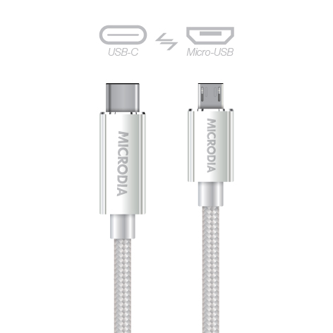 USB-C_to_MicroUSB - Silver