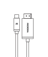 MICRODIA USB-C 3.1 USB-C to Display Port