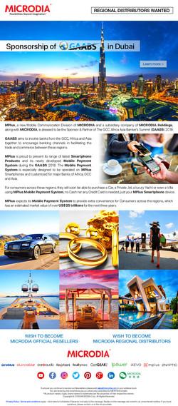 Sponsorship of GAABS in Dubai