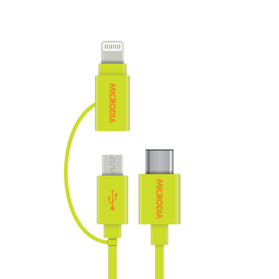 Fruitywire 2in1 USB-C Cable